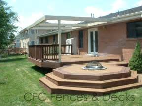 Patio Home Definition Mi 10269 Timbertech Twinfinish Multi Level Deck And Patio