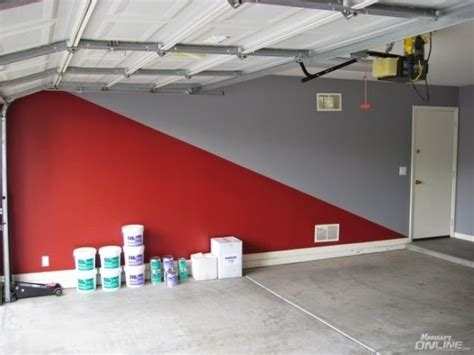 garage color ideas interior garage wall paint colors