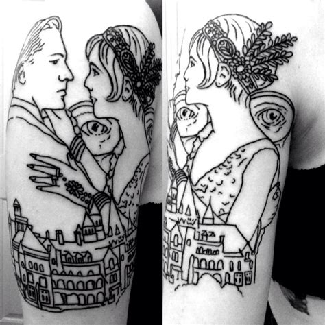 great gatsby tattoo the great gatsby i wouldn t get the myself
