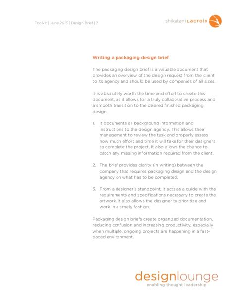 design brief assignment creating the perfect design brief