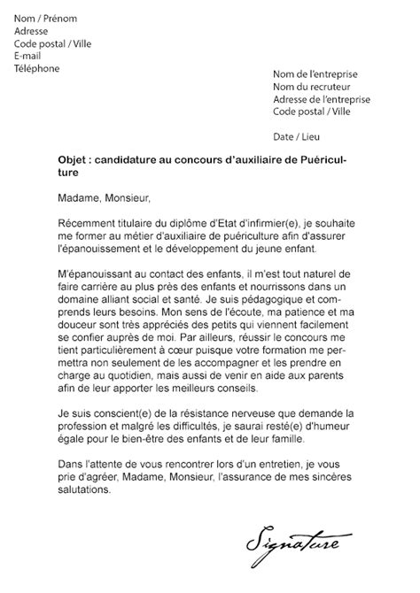 Lettre De Motivation Infirmiere Confirmee