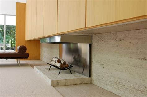 der on fireplace farnsworth house i would to recreate something like