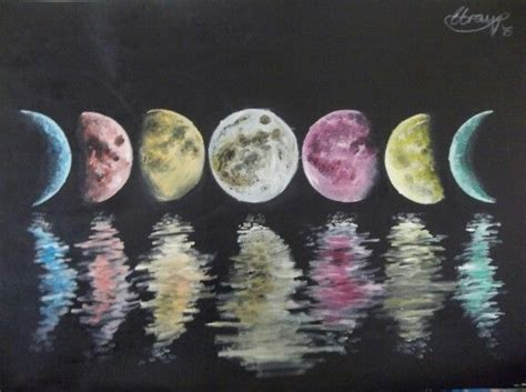 Best 25  Moon phases art ideas on Pinterest   Moon phases