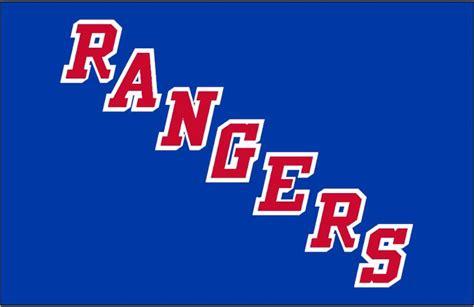 york rangers jersey logo  rangers diagonal