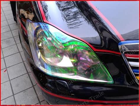 Sticker Headlight Taillight Chameleon Vinyl Tint M 2017 1 roll 30cm x 8m chameleon headlight taillight tint