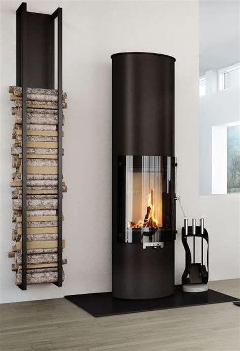 Fireplace Storage | 25 cool firewood storage designs for modern homes