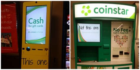Gift Card Machine Locations - time to trade in those gift cards coinstar exchange