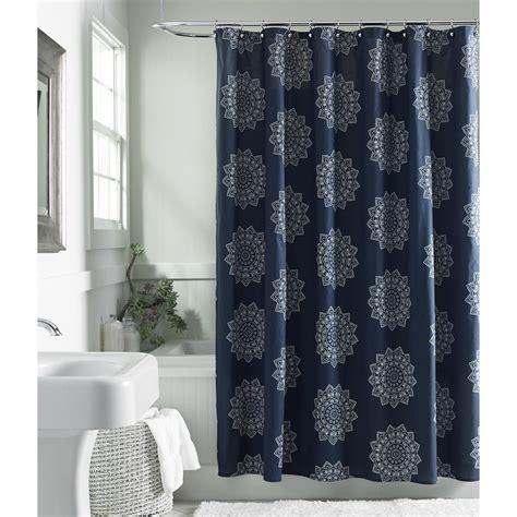 medallion shower curtain cannon henna medallion shower curtain
