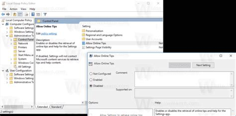how to control windows 10 the settings guide makeuseof how to disable online tips in settings in windows 10