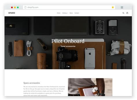 20 Best Free Premium Responsive Shopify Ecommerce Themes 2017 Shopify Website Templates