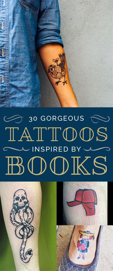 30 gorgeous tattoos inspired by great books gorgeous
