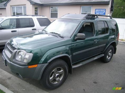 2002 alpine green metallic nissan xterra se v6 4x4 34095634 gtcarlot car color galleries