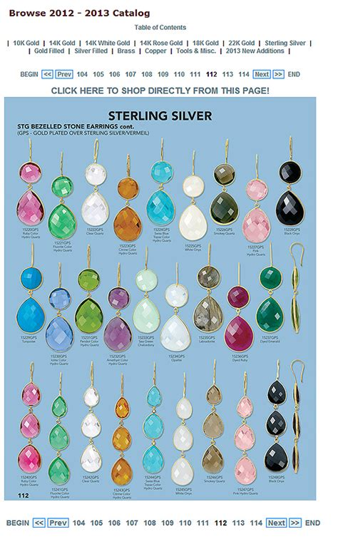 jewelry catalogs free free wholesale jewelry supply catalog for jewelry