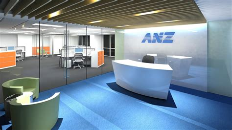 Interior Design Home Office anz bank dsfn architects