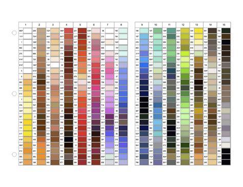 gutermann thread color chart gutermann sew all 100