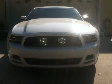 2013 Mustang Lights by 2013 Ford Mustang Gt V6 Fog Lights Relocation Kit The