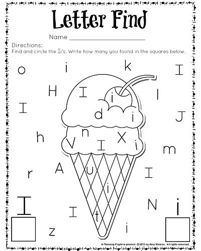 printable alphabet recognition activities cute letter find worksheets with a freebie worksheets