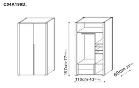 Wardrobe Sizes Uk by Stilts Storage Furniture