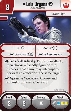 imperial assault deployment card template rebels imperial assault leia organa br 252 ckenkopf