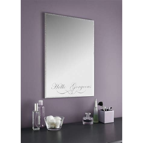 7 Gorgeous Wall Mirrors by Quot Hello Gorgeous Quot Mirror Contemporary Wall Mirrors