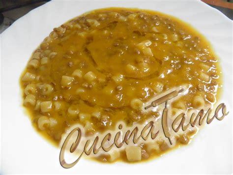 cucinare pasta e lenticchie ricetta cremosa di pasta e lenticchie cucinatamo