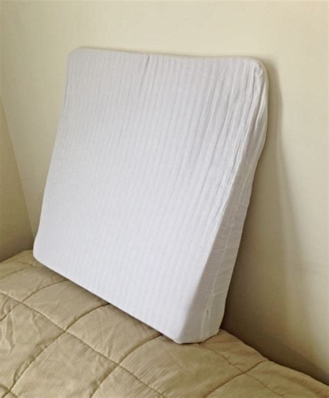 pillows to prop you up in bed prop me up miracle wedge pillow for reading watching