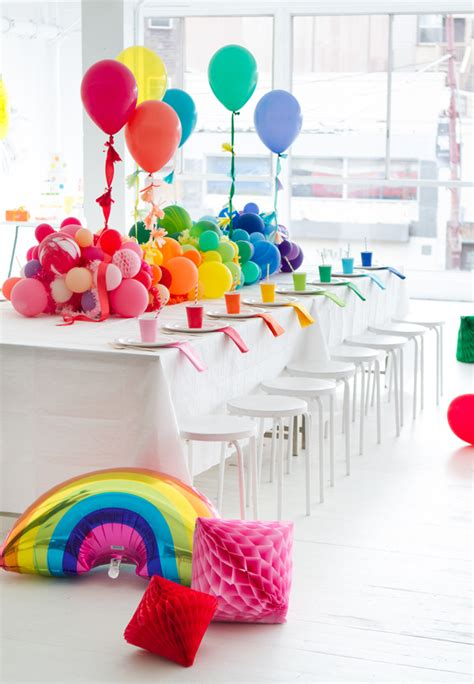 party themes pictures 25 rainbow party ideas that will knock your socks off