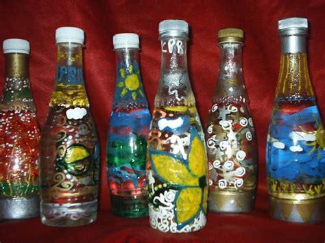 cara membuat hiasan dinding unik botol plastik bekas daur ulang botol bekas hiasanrumah