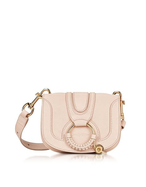 hana bag andrya bag pink see by chlo 233 hana powder leather small crossbody bag in