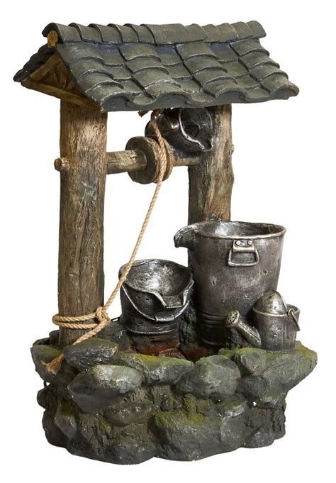 wishing well water feature h100cm x w64cm 163 269 99