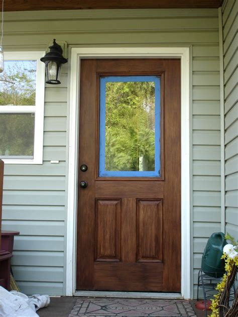 Stain For Fiberglass Exterior Doors Pin By On For The Home Pinterest