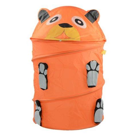 Kids Foldable Pop Up Animal Laundry Basket Toys Storage Animal Laundry