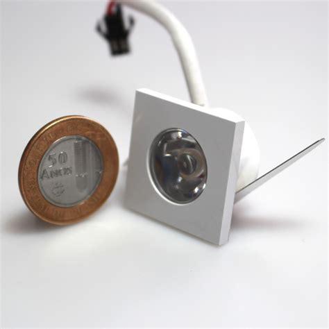 Mini Led Spot by 10 Mini Spot De Led Embutir 1w Quadrado Br Frio 6000k