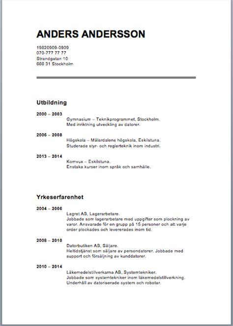 9 exle of curriculum vitae curriculum vitae 07 01 2016 3