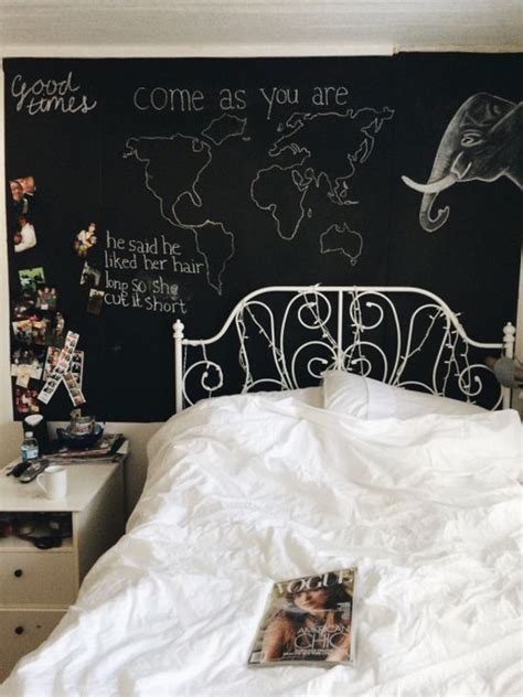 bedroom chalkboard wall chalk wall drawings tumblr www pixshark com images