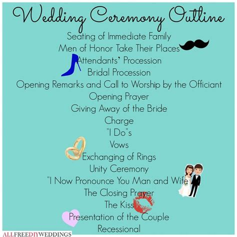 Wedding Ceremony Outline by Ceremony Outline Mrs