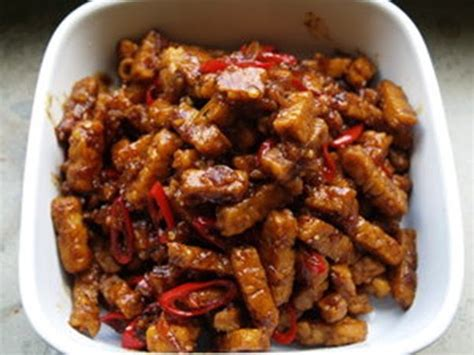 resep tempe masak kecap aneka kreasi resep masakan indonesia