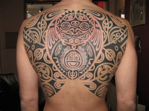polynesian tribal tattoos meaning heritage polynesian