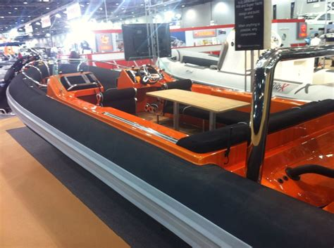 rib boat graphics custom rib x tender with flexiteek deck and table