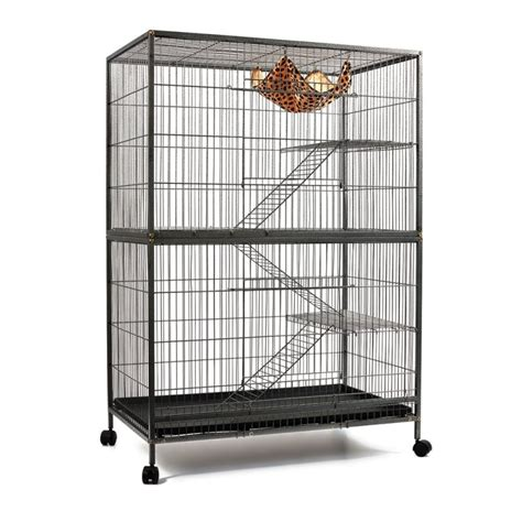 large bird cages large multi level ferret bird cage w wheels 140cm buy bird cages aviaries
