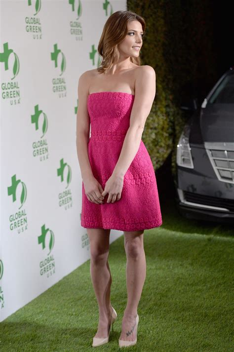 ashley greene oscar ashley greene wearing giambattista valli dress 2014