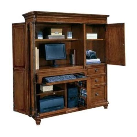 cherry wood computer armoire cherry wood computer armoire for a living room or home office home interior design