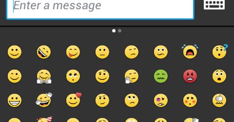 emoji di bbm android smartphone now show smiley in bbm status