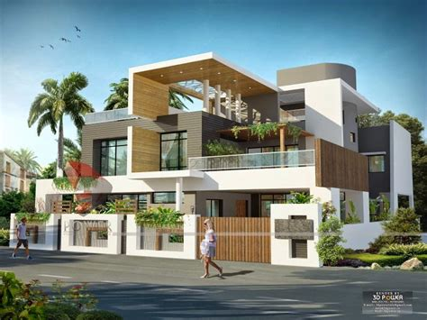 bungalows design we are expert in designing 3d ultra modern home designs