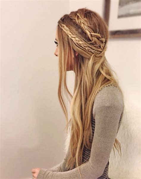 hippie hairstyles for long hair 28 fancy braided hairstyles for long hair 2016 pretty