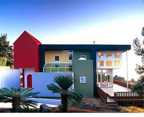 ide  contoh warna cat rumah minimalis