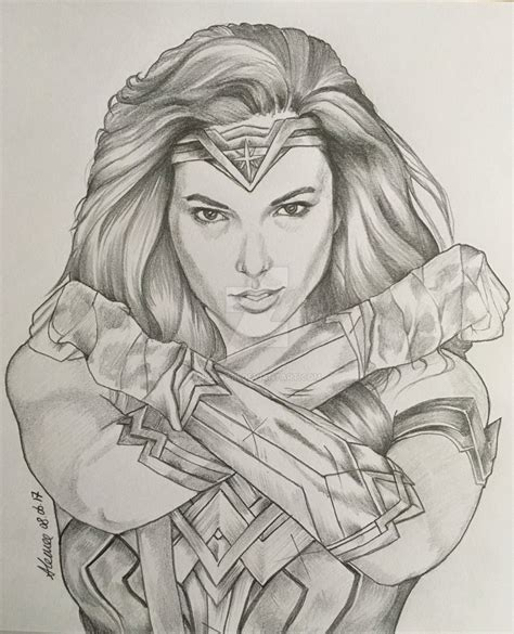 wonder woman drawing speed drawing wonder woman gal