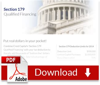 section 179 software section 179 qualified financing bonus crestcapital