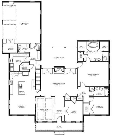 20 cape cod house plans open floor plan small house