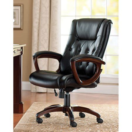 better homes and gardens bonded leather executive office